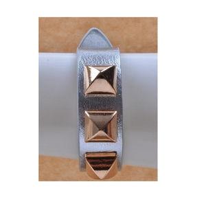 Metallic Wrap Pyramid Bracelet (Choices)